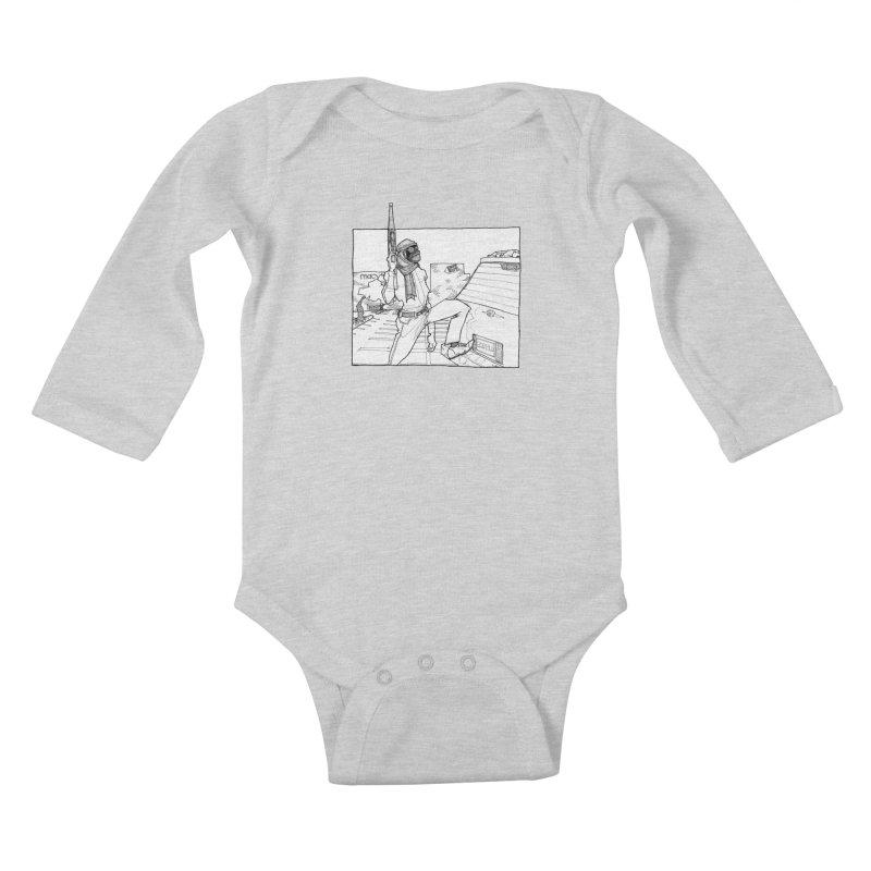 A.T. Kids Baby Longsleeve Bodysuit by Katiecrimespree's Ye Olde Shirt Shoppe