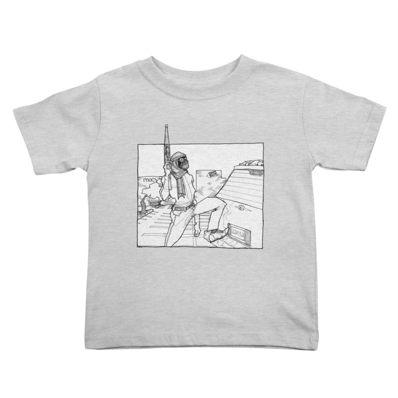 A.T. Kids Toddler T-Shirt by Katiecrimespree's Ye Olde Shirt Shoppe