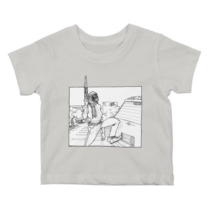 A.T. Kids Baby T-Shirt by Katiecrimespree's Ye Olde Shirt Shoppe