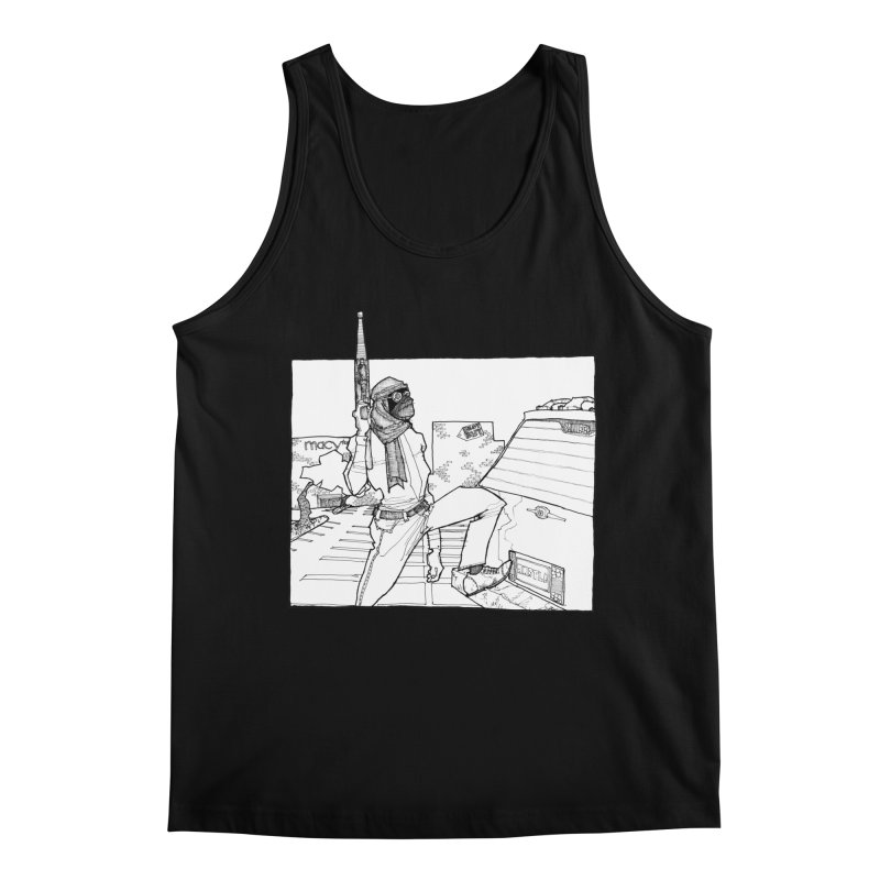 A.T. Men's Regular Tank by Katiecrimespree's Ye Olde Shirt Shoppe