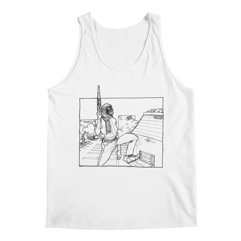 A.T. Men's Tank by Katiecrimespree's Ye Olde Shirt Shoppe