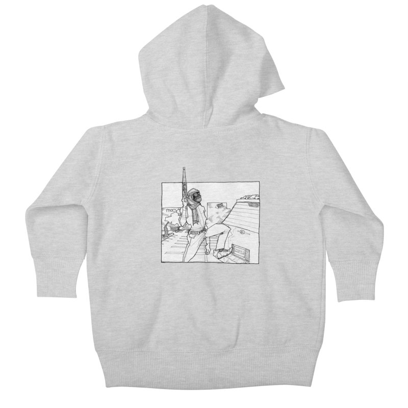 A.T. Kids Baby Zip-Up Hoody by Katiecrimespree's Ye Olde Shirt Shoppe