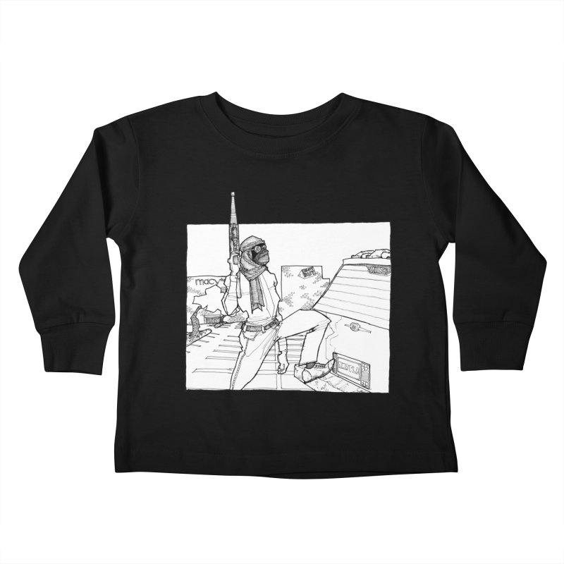 A.T. Kids Toddler Longsleeve T-Shirt by Katiecrimespree's Ye Olde Shirt Shoppe