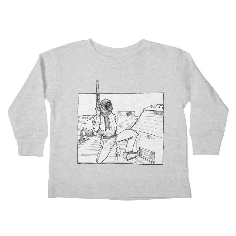 A.T. Kids Toddler Longsleeve T-Shirt by Katiecrimespree's Ye Olde Shirt Shoppe