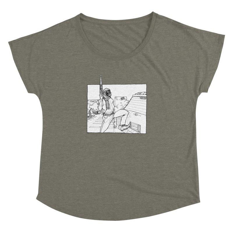 A.T. Women's Dolman Scoop Neck by Katiecrimespree's Ye Olde Shirt Shoppe