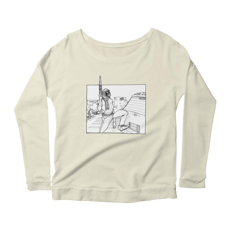 A.T. Women's Longsleeve Scoopneck  by Katiecrimespree's Ye Olde Shirt Shoppe