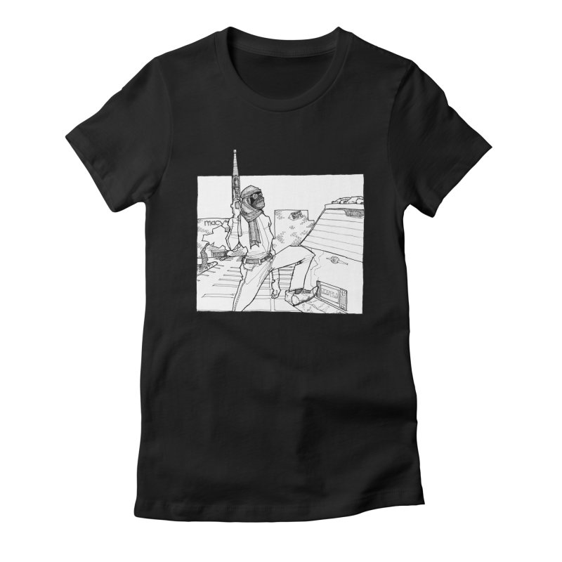 A.T. Women's Fitted T-Shirt by Katiecrimespree's Ye Olde Shirt Shoppe