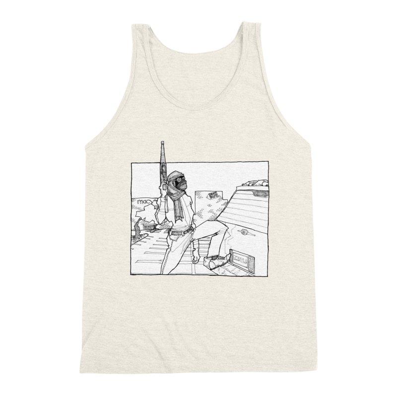 A.T. Men's Triblend Tank by Katiecrimespree's Ye Olde Shirt Shoppe