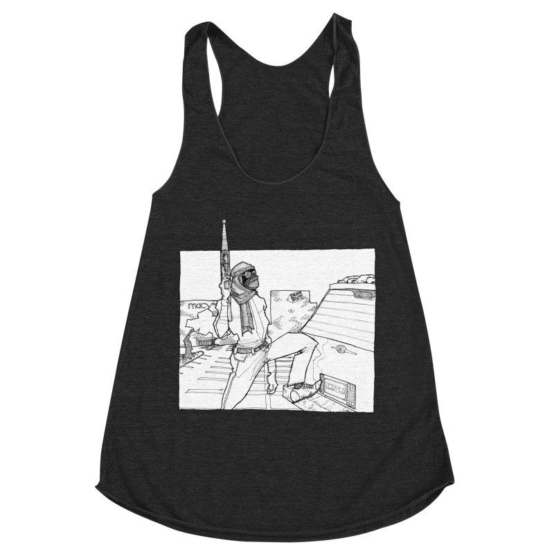 A.T. Women's Racerback Triblend Tank by Katiecrimespree's Ye Olde Shirt Shoppe