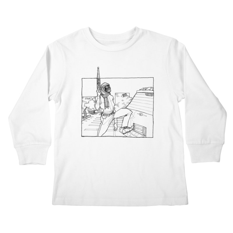 A.T. Kids Longsleeve T-Shirt by Katiecrimespree's Ye Olde Shirt Shoppe