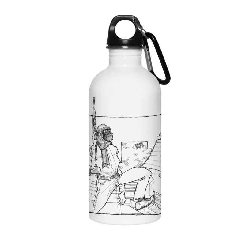 A.T. Accessories Water Bottle by Katiecrimespree's Ye Olde Shirt Shoppe