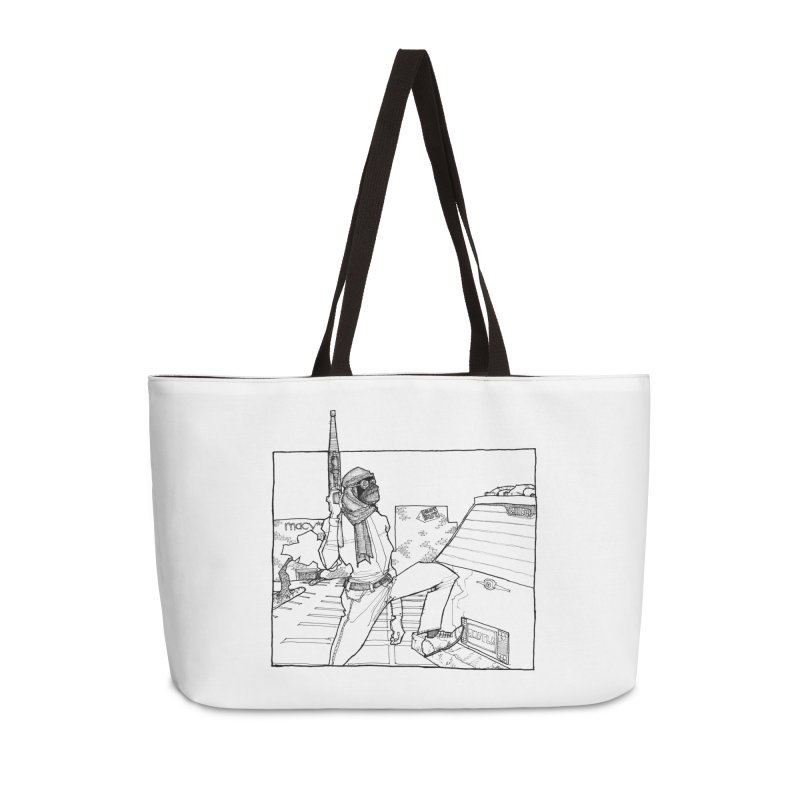 A.T. Accessories Weekender Bag Bag by Katiecrimespree's Ye Olde Shirt Shoppe
