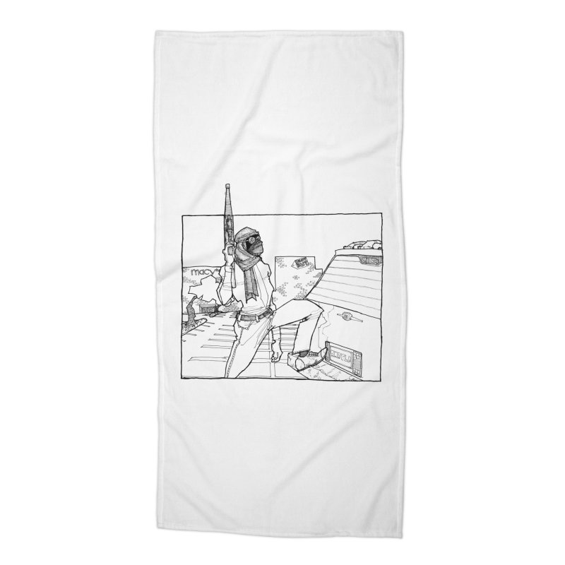 A.T. Accessories Beach Towel by Katiecrimespree's Ye Olde Shirt Shoppe