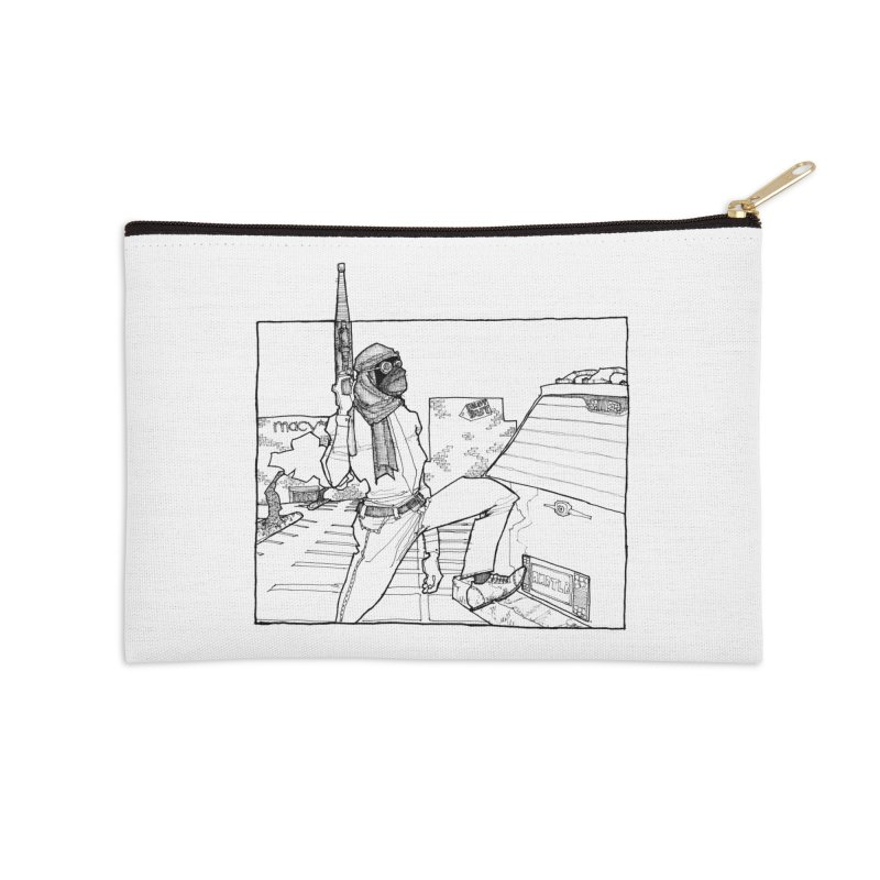 A.T. Accessories Zip Pouch by Katiecrimespree's Ye Olde Shirt Shoppe