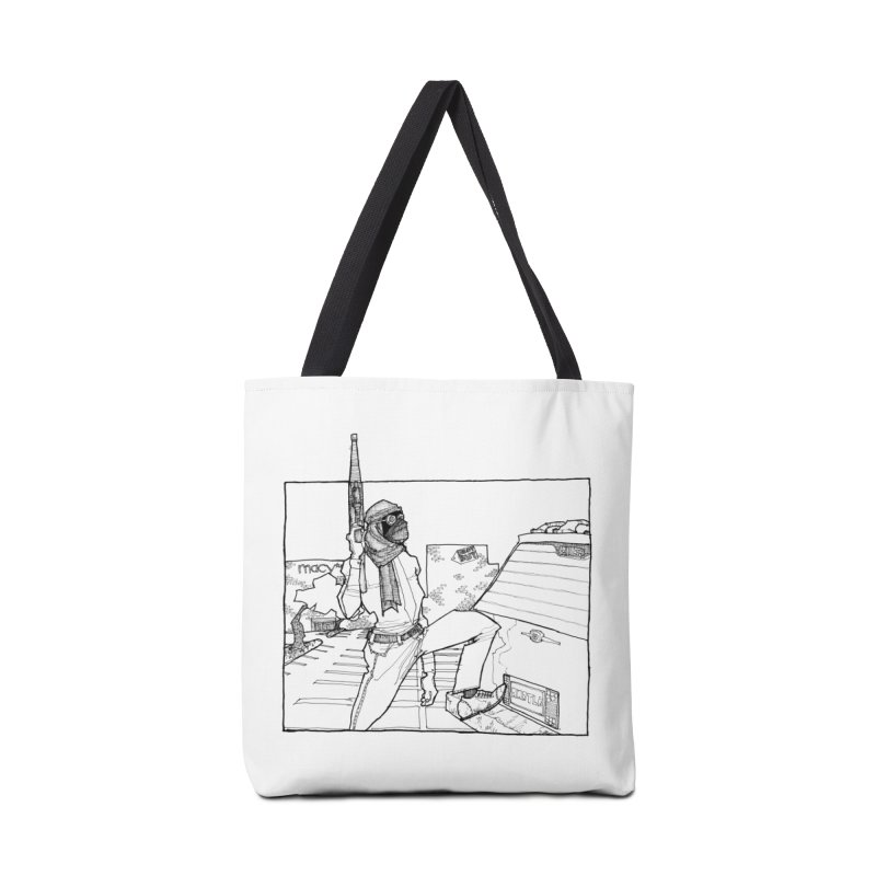 A.T. Accessories Tote Bag Bag by Katiecrimespree's Ye Olde Shirt Shoppe