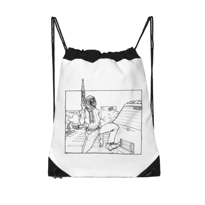 A.T. Accessories Drawstring Bag Bag by Katiecrimespree's Ye Olde Shirt Shoppe