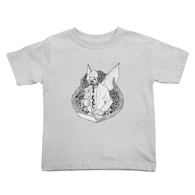 Bizzy Bee Kids Toddler T-Shirt by Katiecrimespree's Ye Olde Shirt Shoppe