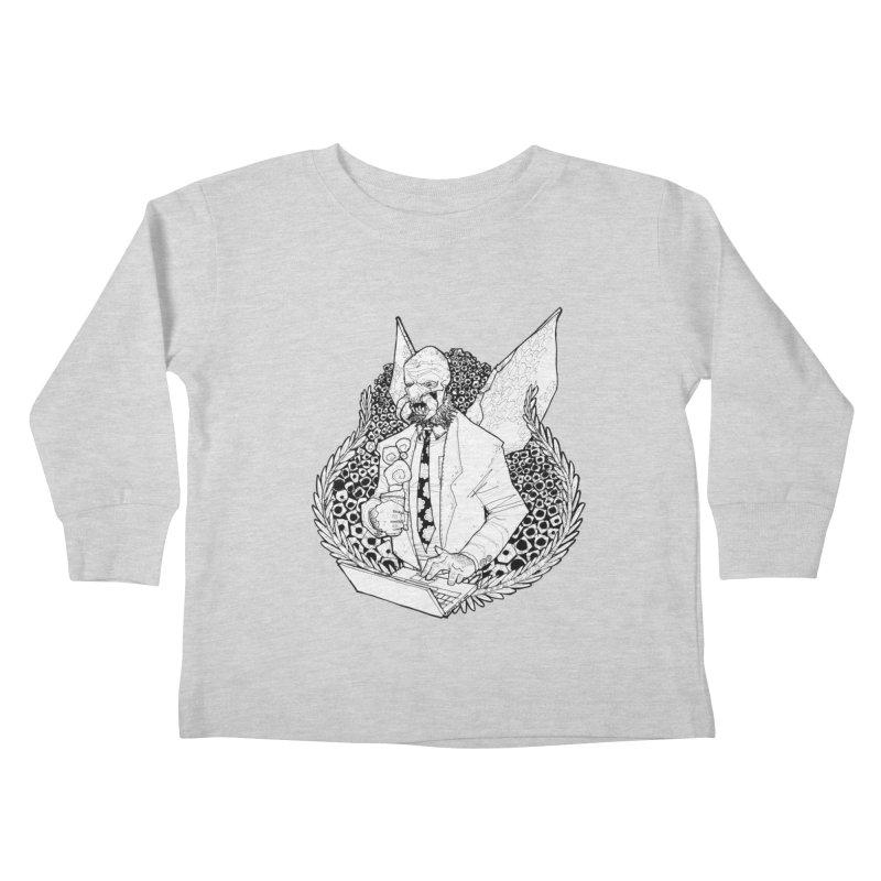 Bizzy Bee Kids Toddler Longsleeve T-Shirt by Katiecrimespree's Ye Olde Shirt Shoppe