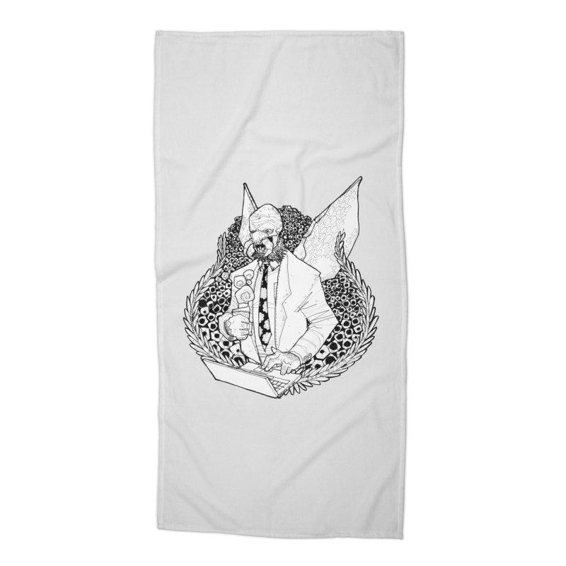Bizzy Bee Accessories Beach Towel by Katiecrimespree's Ye Olde Shirt Shoppe