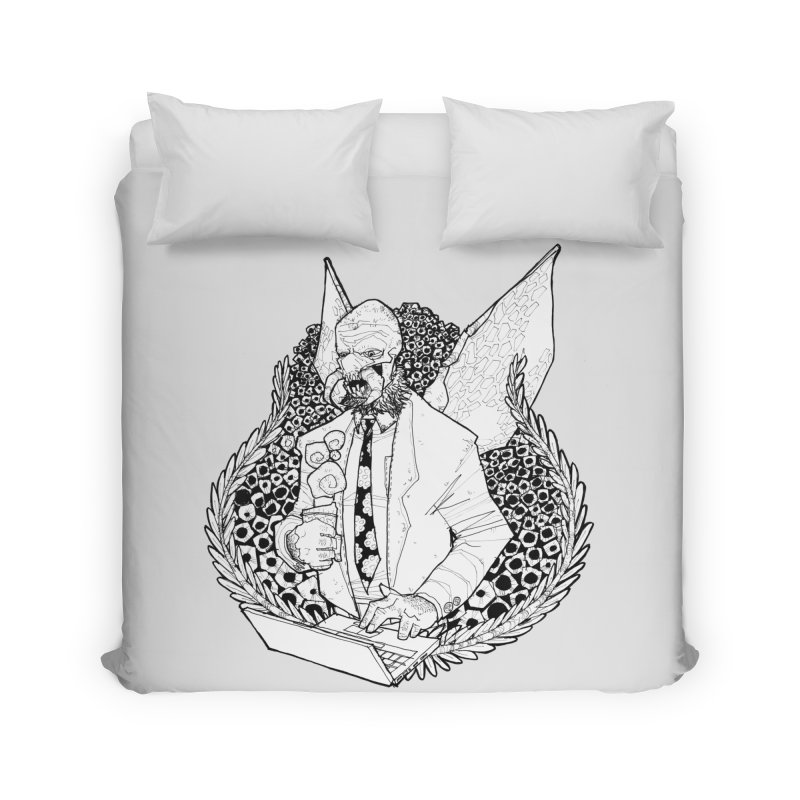 Bizzy Bee Home Duvet by Katiecrimespree's Ye Olde Shirt Shoppe
