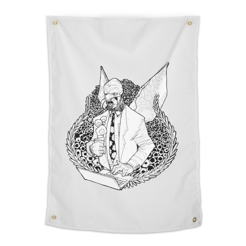 Bizzy Bee Home Tapestry by Katiecrimespree's Ye Olde Shirt Shoppe