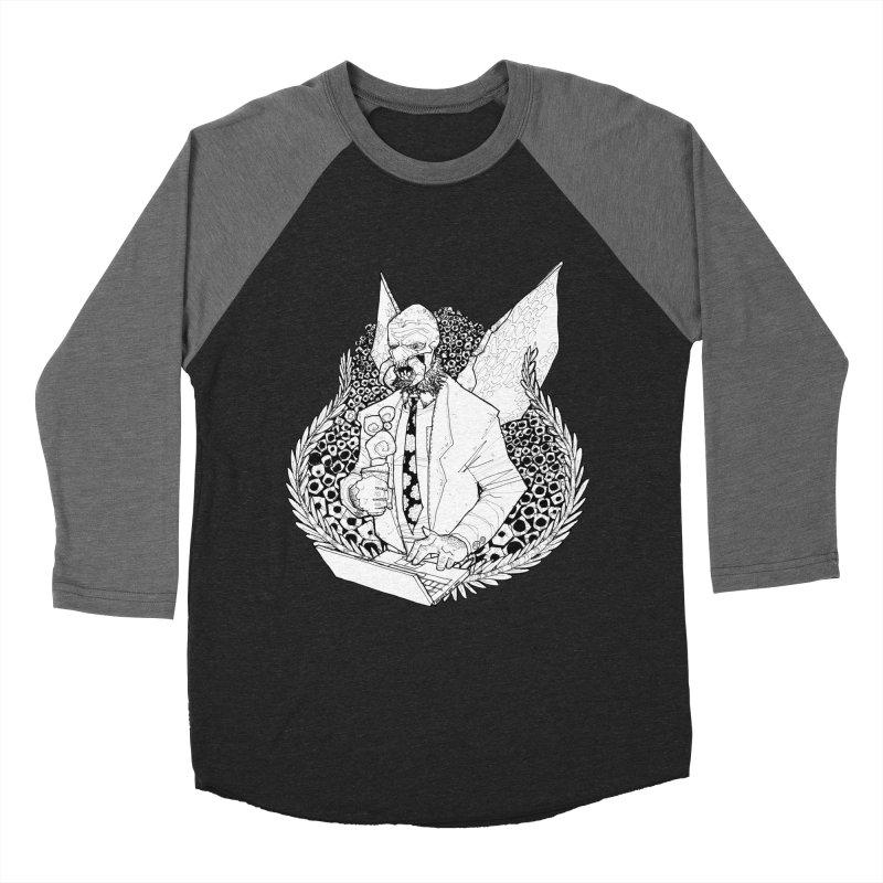 Bizzy Bee Men's Baseball Triblend T-Shirt by Katiecrimespree's Ye Olde Shirt Shoppe