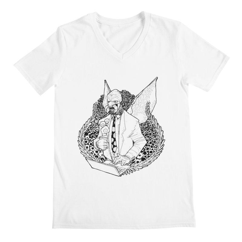 Bizzy Bee Men's V-Neck by Katiecrimespree's Ye Olde Shirt Shoppe
