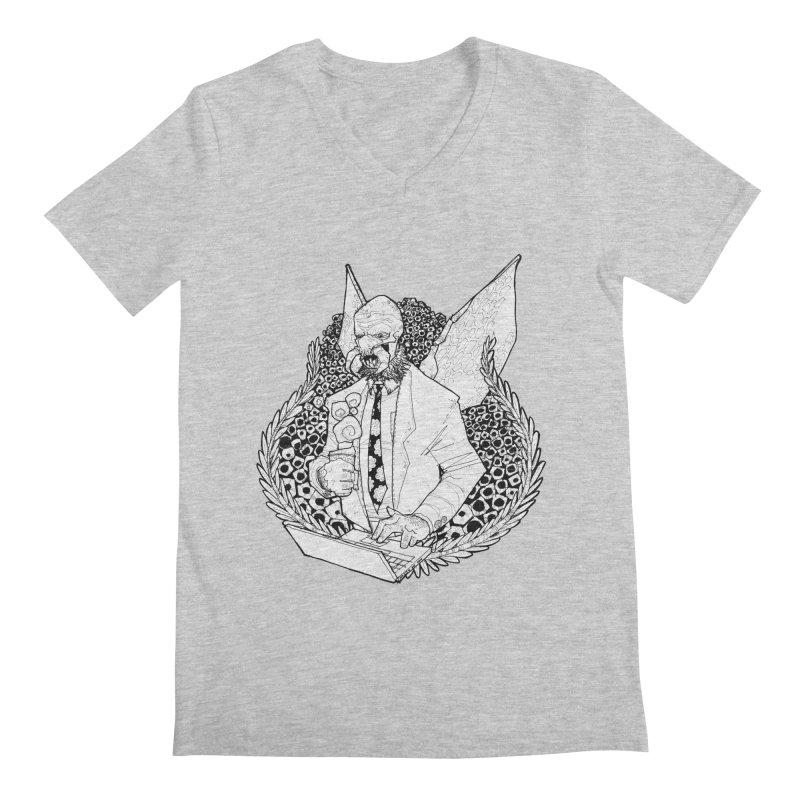Bizzy Bee Men's Regular V-Neck by Katiecrimespree's Ye Olde Shirt Shoppe