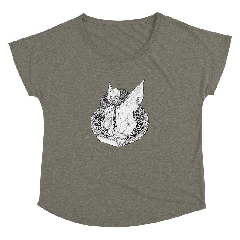 Bizzy Bee Women's Dolman Scoop Neck by Katiecrimespree's Ye Olde Shirt Shoppe