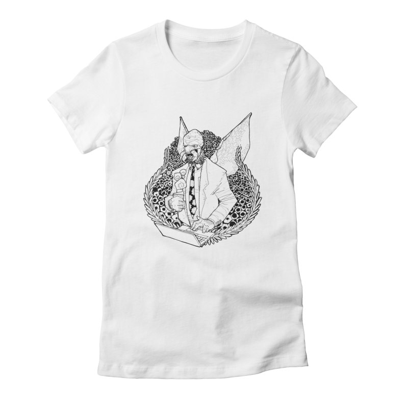 Bizzy Bee Women's Fitted T-Shirt by Katiecrimespree's Ye Olde Shirt Shoppe