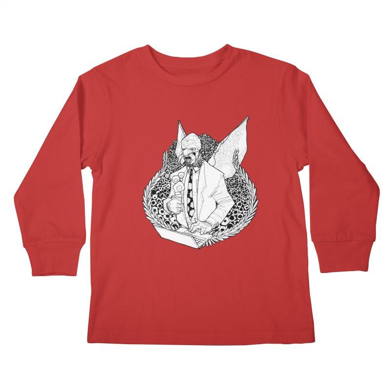 Bizzy Bee Kids Longsleeve T-Shirt by Katiecrimespree's Ye Olde Shirt Shoppe