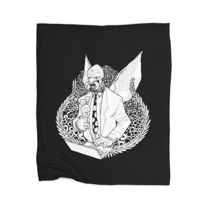 Bizzy Bee Home Blanket by Katiecrimespree's Ye Olde Shirt Shoppe