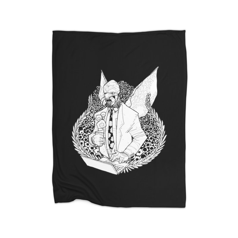 Bizzy Bee Home Blanket by Katiecrimespree's Ye Olde Shirt Shoppe