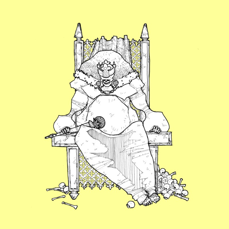 Fat King Kids T-Shirt by Katiecrimespree's Ye Olde Shirt Shoppe
