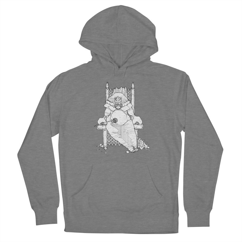 Fat King Men's Pullover Hoody by Katiecrimespree's Ye Olde Shirt Shoppe