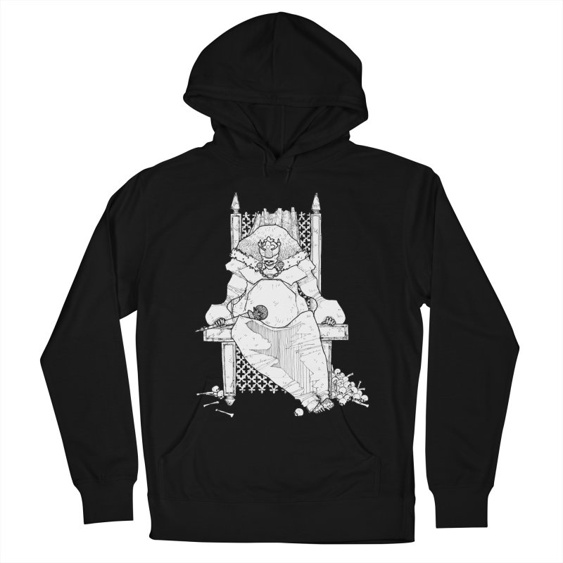 Fat King Women's French Terry Pullover Hoody by Katiecrimespree's Ye Olde Shirt Shoppe