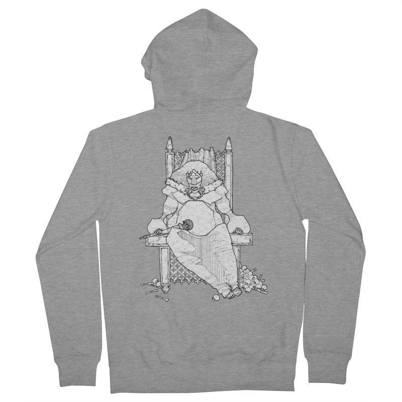 Fat King Women's Zip-Up Hoody by Katiecrimespree's Ye Olde Shirt Shoppe