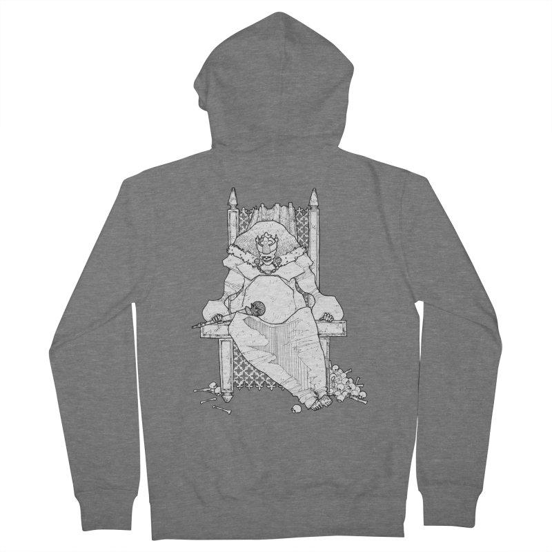 Fat King Men's French Terry Zip-Up Hoody by Katiecrimespree's Ye Olde Shirt Shoppe