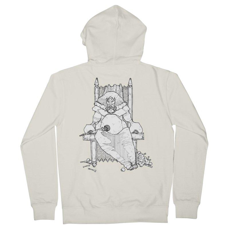 Fat King Men's Zip-Up Hoody by Katiecrimespree's Ye Olde Shirt Shoppe