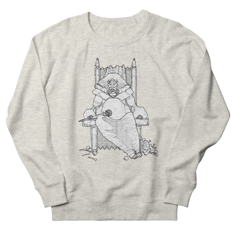 Fat King Women's Sweatshirt by Katiecrimespree's Ye Olde Shirt Shoppe