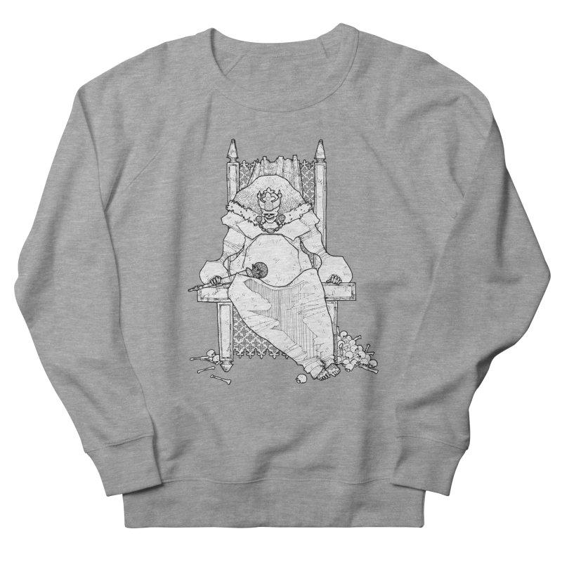 Fat King Men's French Terry Sweatshirt by Katiecrimespree's Ye Olde Shirt Shoppe