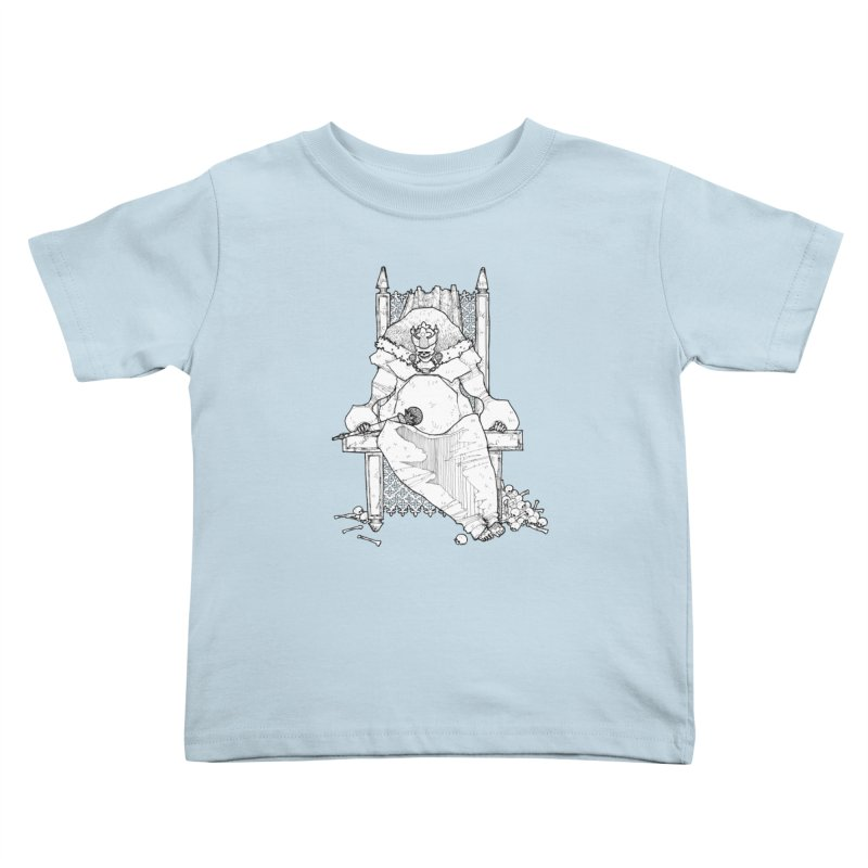 Fat King Kids Toddler T-Shirt by Katiecrimespree's Ye Olde Shirt Shoppe