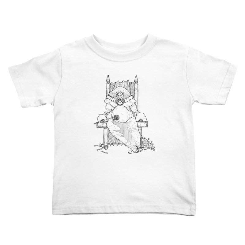 Fat King Kids Toddler T-Shirt by Katiecrimespree's Ye Olde Shirt Shoppe