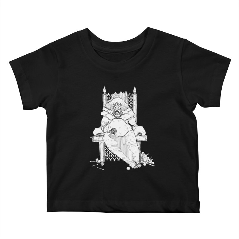 Fat King Kids Baby T-Shirt by Katiecrimespree's Ye Olde Shirt Shoppe