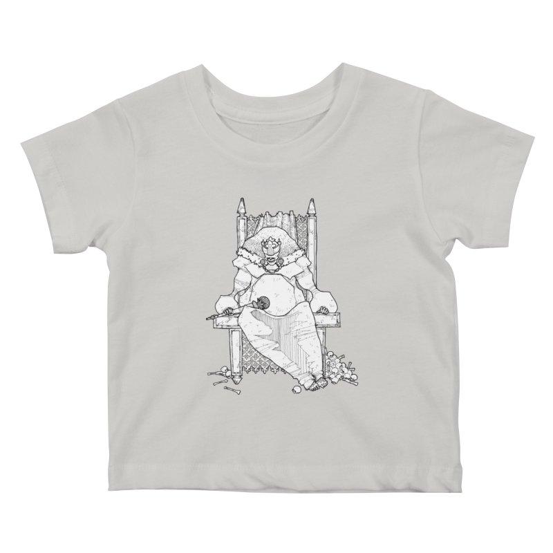 Fat King Kids Baby T-Shirt by Katiecrimespree's Ye Olde Shirt Shoppe