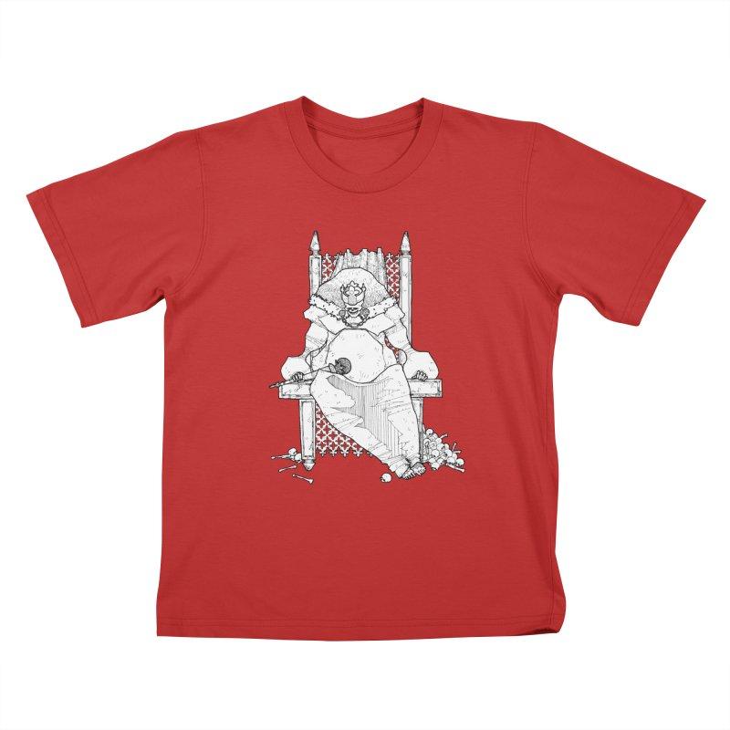 Fat King Kids T-Shirt by Katiecrimespree's Ye Olde Shirt Shoppe