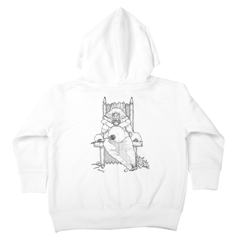 Fat King Kids Toddler Zip-Up Hoody by Katiecrimespree's Ye Olde Shirt Shoppe