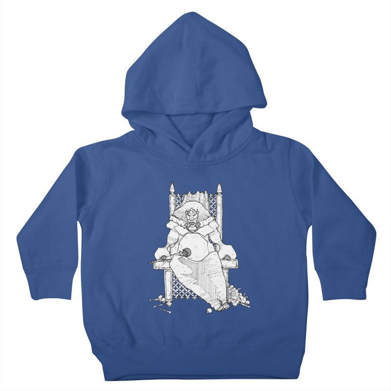 Fat King Kids Toddler Pullover Hoody by Katiecrimespree's Ye Olde Shirt Shoppe