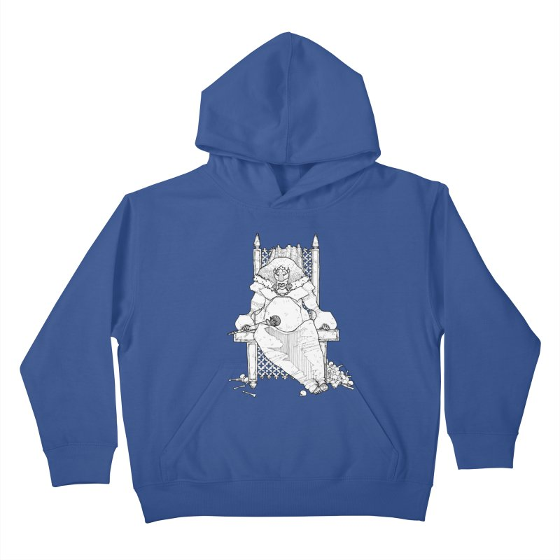 Fat King Kids Pullover Hoody by Katiecrimespree's Ye Olde Shirt Shoppe