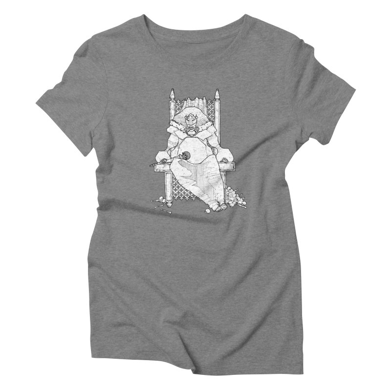 Fat King Women's Triblend T-Shirt by Katiecrimespree's Ye Olde Shirt Shoppe